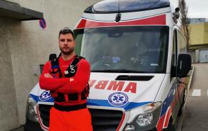 Ratownik medyczny ścigał pijanego kierowcę