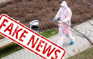 Koronawirus. Fake news: Oszuści przebierają się w kombinezony i okradają