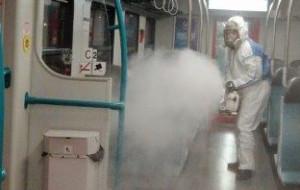 SKM wprowadza nową metodę odkażania pociągów