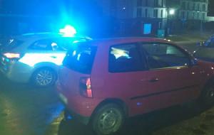 Pijany kierowca uderzył w radiowóz