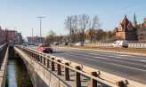 Podwale Przedmiejskie: przygotowania do remontu mostu nad Motławą