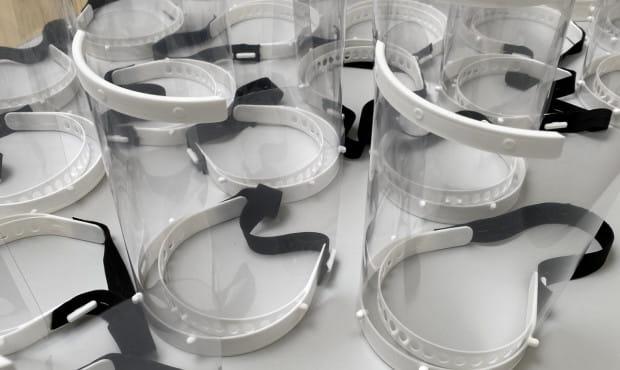 Gdynia drukuje maski dla lekarzy