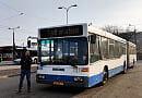 Gdynia: zabytkowy autobus pomaga w utrzymaniu rozkładu