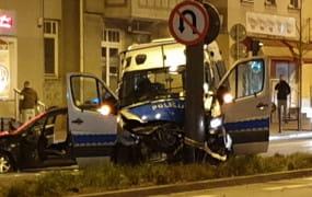 Dziewięć osób rannych w wypadku radiowozu w Sopocie