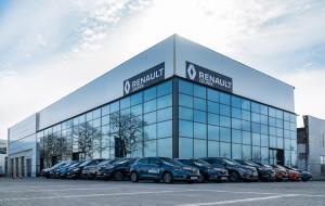 Salon Renault Zdunek został przebudowany