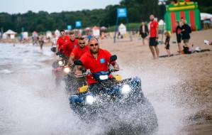 W weekend patrole na quadach skontrolują plaże