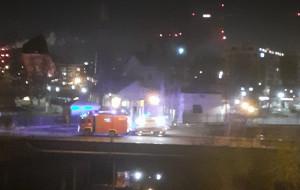 Policjanci uratowali tonącego w Motławie