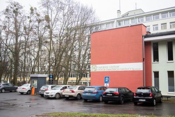 Zawieszono przyjęcia do Pomorskiego Centrum Chorób Zakaźnych