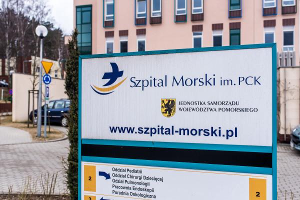 Zawieszono przyjęcia do Szpitala Morskiego w Gdyni