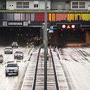 Odcinkowy pomiar prędkości batem na szybką jazdę w tunelu pod Martwą Wisłą