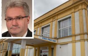 Dyrektor szpitala: Nie odmówiłem pomocy wymagającym hospitalizacji
