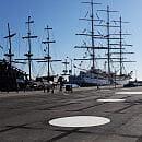 Pierwsze efekty zmian przed Akwarium Gdyńskim
