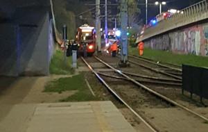 Mężczyzna zginął pod kołami tramwaju na węźle Kliniczna