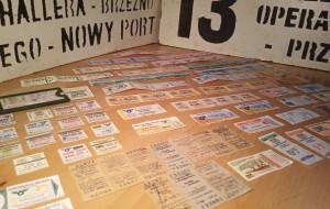Po latach odnalazł kolekcję starych biletów na komunikację