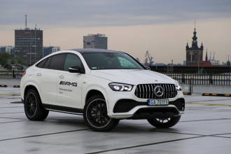 Mercedes-AMG GLE 53 Coupe: atletyczny SUV