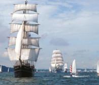 Wielkie żaglowce dotarły do Gdyni
