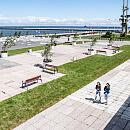 Nowe oblicze placu przed Akwarium Gdyńskim