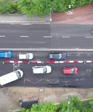 Remont al. Niepodległości. Korki dają się we znaki kierowcom