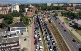 Uciążliwe korki na Podwalu Przedmiejskim mają zniknąć do soboty