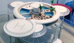 Podwodny hotel i symulator stoku narciarskiego