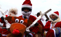 Renifer na dwóch kołach, czyli Mikołaje...