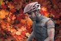 Jesienny rowerzysta