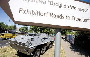 Szukają milicyjnego BTR-a, ma być turystyczną atrakcją