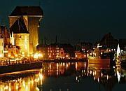 Skok na głęboką wodę z symbolu Gdańska