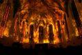 Kościół św. Trójcy stanie w płomieniach