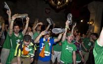 Irlandzcy kibice pokazali, jak się bawić...