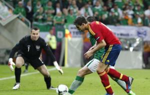 Uznanie dla hiszpańskich piłkarzy i irlandzkich kibiców