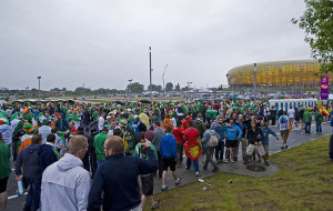 Organizacja meczu: SKM nie zawiodła, korki we Wrzeszczu