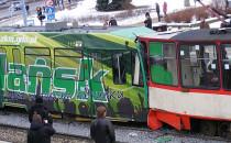 20 osób rannych w zderzeniu tramwajów
