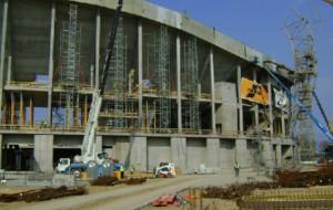 Znaleziono zwłoki przy placu budowy stadionu w Letnicy