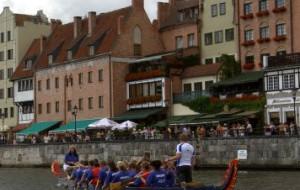 Prawie jak Cambridge i Oksford, czyli smocze łodzie w Gdańsku