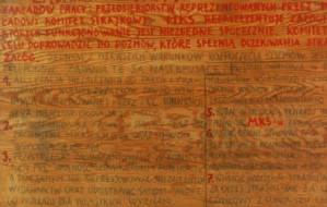 Tak tworzy się historia. Tablice z 21 postulatami Sierpnia '80 w Centralnym Muzeum Morskim