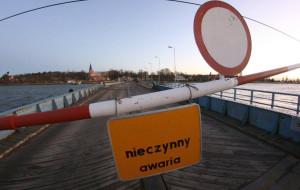 Most Sobieszewski zyska stalową nawierzchnię