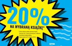 20% na wybraną książkę
