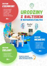 Urodziny z Baltisiem w restauracji Baltica!