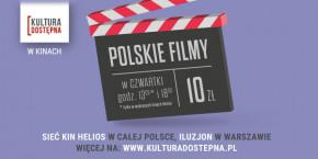 Kultura Dostępna, w ramach projektu bilety dla wszystkich za 10 zł!