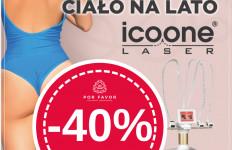 Modelowanie i ujędrnianie ciała Icoone Laser -40% baza + 3 focusy!