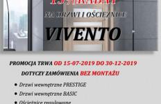 Promocja na drzwi i ościeżnice VIVENTO!