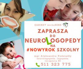 -30% na diagnozę NEUROlogopedyczną!