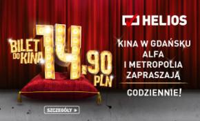 Bilety do kina Helios w super cenie!