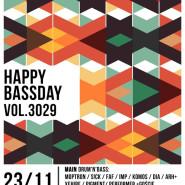 Happy Bass Day vol.3029
