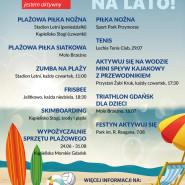 Aktywuj się w Gdańsku na lato!