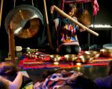 Kąpiel w dźwiękach gongów i mis - koncert Joanny Materek