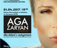 Aga Zaryan dla dzieci z autyzmem
