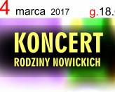 Koncert Rodziny Nowickich