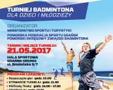 Badminton u Wybrzeża Bałtyku - Turniej